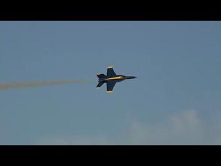 Blue Angels Super Hornet Demo NAS Pensacola