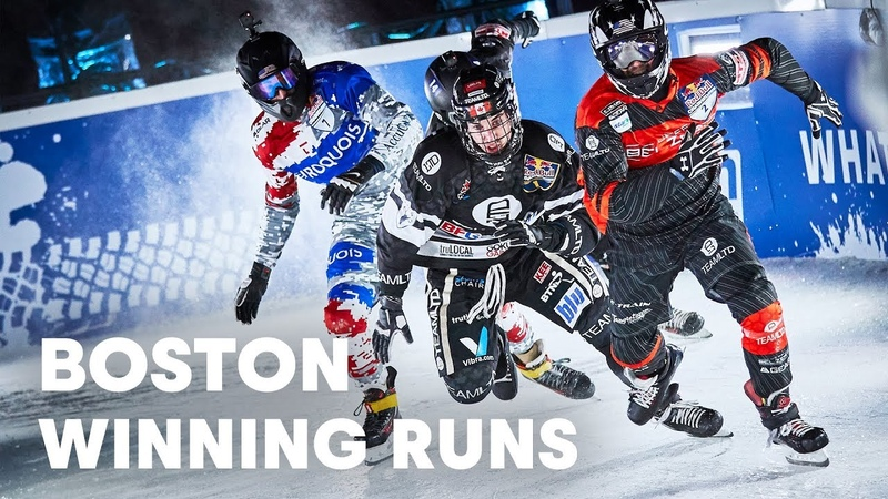 Red Bull Crashed Ice Hits Bostons Fenway Park | Red Bull Crashed Ice 2019