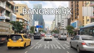 Bangkok 4K - Driving Downtown - Thailand