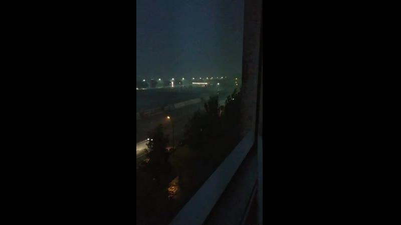 Дождик на Ленинградской. Брест 19.08.2019