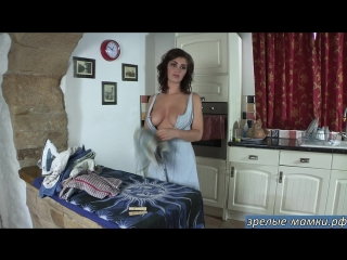 771_milf, mature, милф, мамки,секс,порно-Хозяйственная жена в домашнем видео