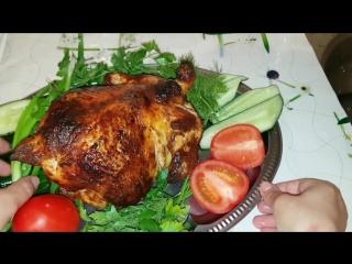 Домашняя курица гриль в мини-печи GFGril GFO-45 Family. Цыганка готовит. Gipsy cuisine.
