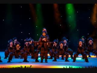 """""""Обезьянки"""", Мультигруппа школа танца TODES-Калуга, зимний отчетный концерт, 21 декабря 2018"""