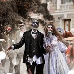 Какие бывают зомби? Грим на Хэллоуин
