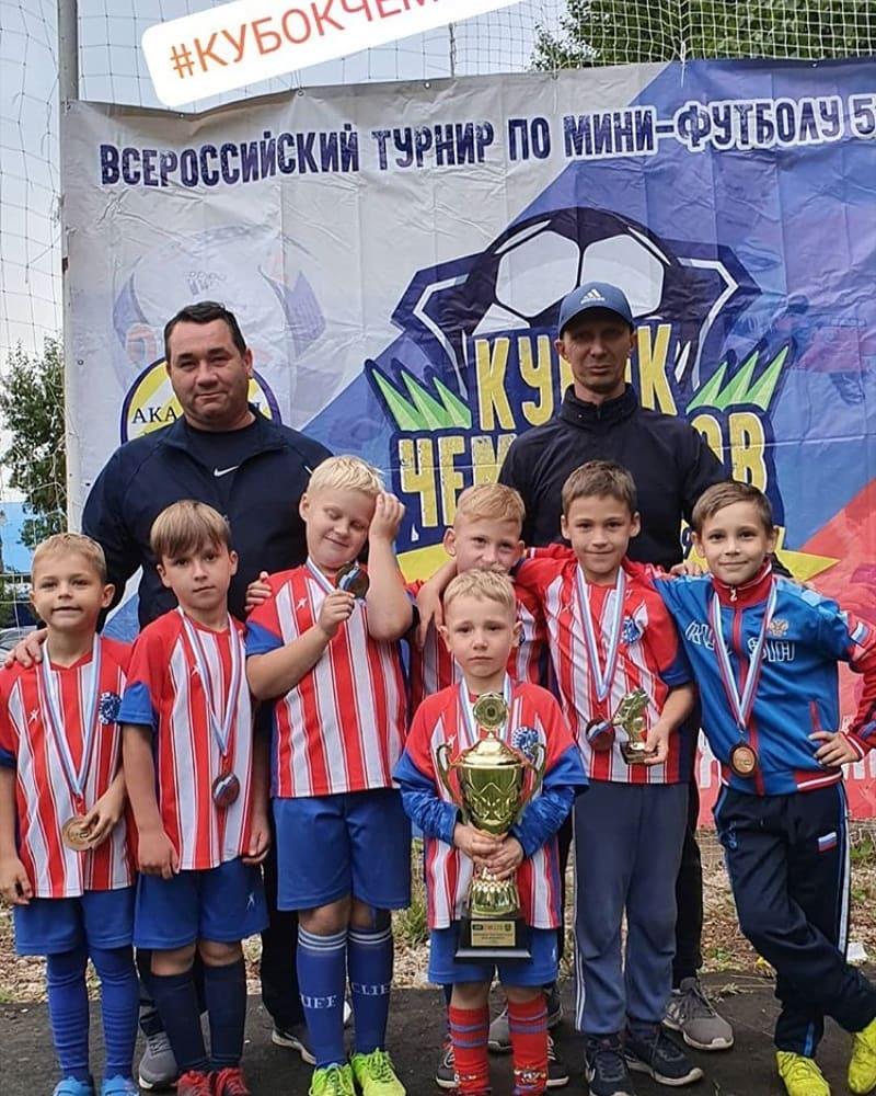 Поздравляем наших юных футболистов и их тренеров!