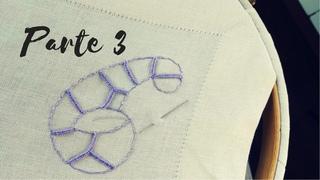 обработка выреза урок3 Punto Intaglio parte 3   Ricamo Tutorial