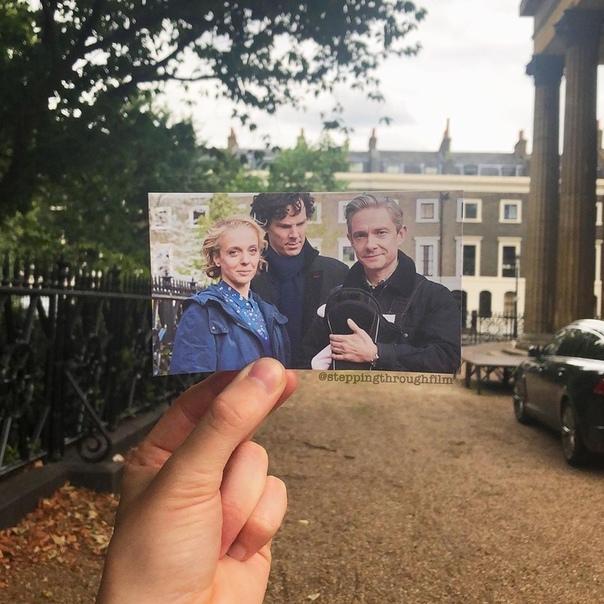 «Шерлок» в реальных локациях на фотографиях Томаса Дьюка Вчера сериалу исполнилось 10 лет.