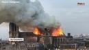 В Париже горит Собор Парижской Богоматери Нотр Дам де Пари Notre Dame de Paris on fire