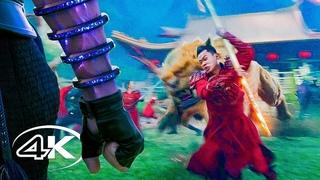 Шан-Чи и легенда десяти колец - Русский трейлер 4K Фильм 2021 #фантастика #фэнтези #боевик #приключения