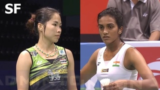 Ratchanok Intanon vs Pusarla V. Sindhu Badminton 2018 India Open Semi Final