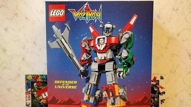 Lego Voltron 21311 / Вольтрон Защитник Вселенной