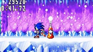 КРАСИВЕЙШИЙ СНЕЖНЫЙ уровень   Sonic Advance #4