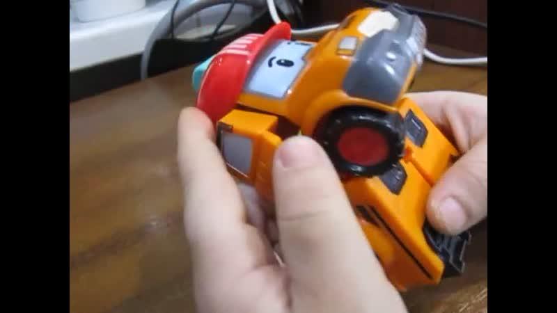 Машинка робот из Робокар Полли