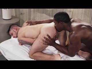 Blacked Man Interracial Black and White Gay Porn ( black big dick ass )