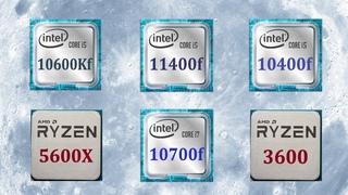 Голубая луна. Ryzen 5600x vs i5 11400f vs 10600kf vs i7 10700f vs 3600 vs 10400f