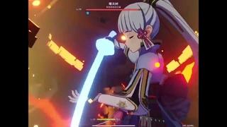 Genshin Impact Ayaka leak - TONS of damage