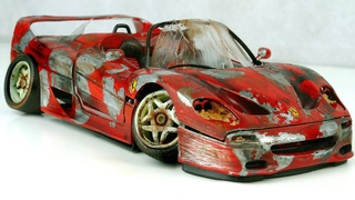 Restoration abandoned Ferrari F50 tuning Model Car by Good Restore