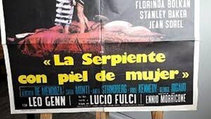 LA SERPIENTE CON PIEL DE MUJER 1971 de Lucio Fulci con Florinda Bolkan Jean Sorel Stanley Baker by Refasi