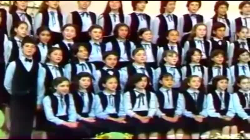 TRT İstanbul çocuk korosu Sevgi çiçekleri
