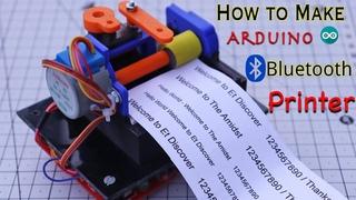 Make your Own Arduino Bluetooth Dot Printer
