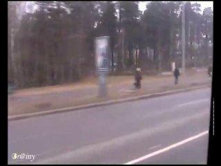поездка на ЛиАЗ 677M