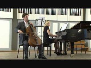 """Илья  Мищенков - """"Элегия"""" для виолончели и фортепиано (Хорошее качество)"""