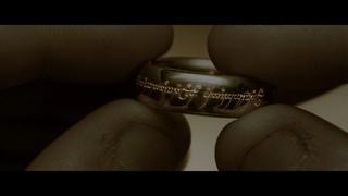 Надпись на кольце всевластия. Властелин колец: Братство кольца (режиссерская версия)   4К