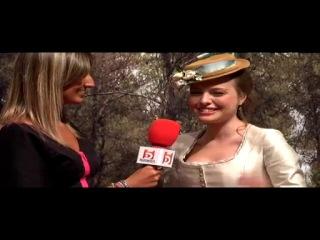 """Esmeralda Moya: """"A mi personaje le cuesta un poco adaptarse al pueblo"""""""