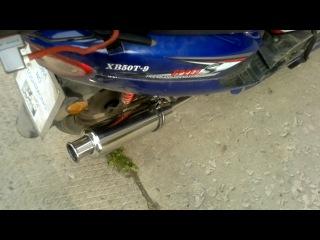 Прямоток на скутере honling qt 9 видео 2