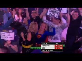 Robert Thornton vs Mervyn King (Grand Slam of Darts 2013 / Second Round)