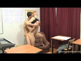 русское порно видео учительница ученик