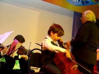 Концерт на XIV Московском фестивале детского и юношеского творчества