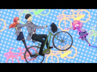 [WreckMedia] Gekkan Shoujo Nozaki-kun / Ежемесячное седзе Нозаки-куна 1 серия (озвучил Step)