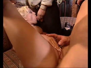 Kelly Trump - German MILF fucked by two guys
