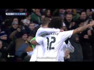Реал Мадрид 2:1 Севилья | Испанская Примера 2014/15 | 16-й тур  | Обзор матча