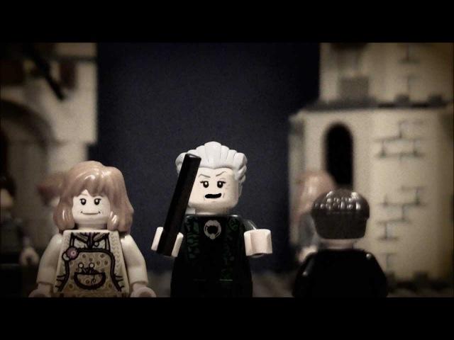 Lego Minerva McGonagall Piertotum Locomotor