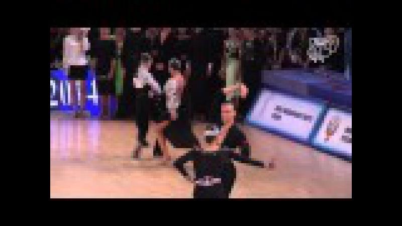 Pastukhov Tsareva RUS 2014 GS LAT R2 PD DanceSport Total