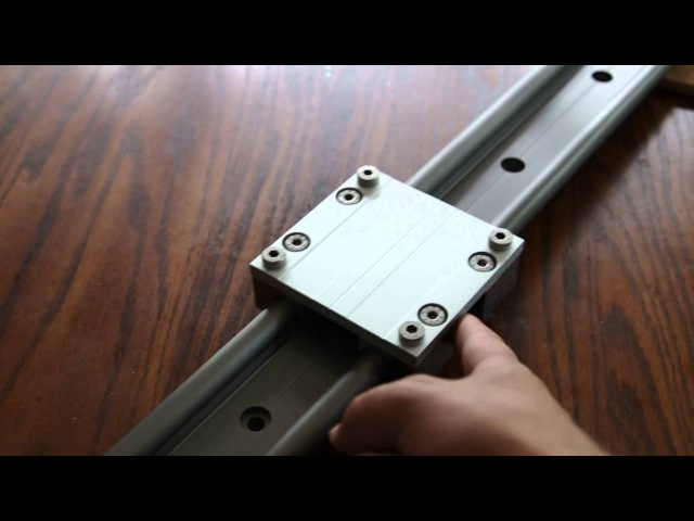 Quick review of the IGUS W16-A Drylin Camera Slider.