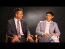 Emily Owens, M.D. - Justin Hartley and Michael Rady Interview Part 1