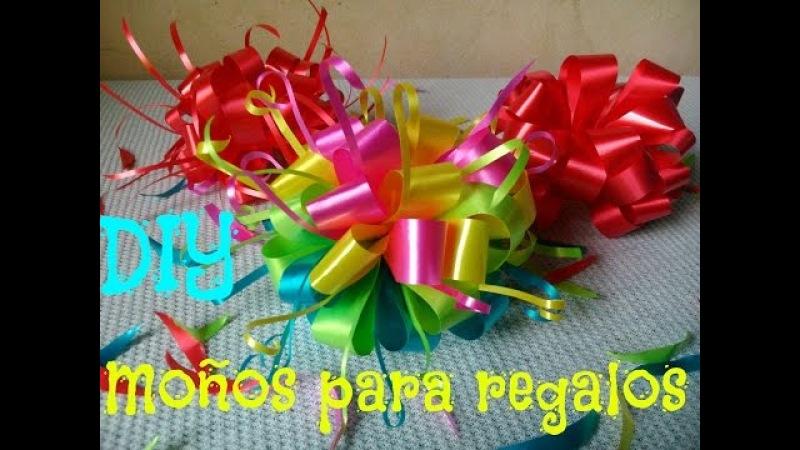 DIY Moños para regalos