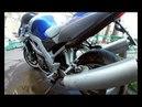 Suzuki sv 1000 звук глушителя оригинал и прямоток