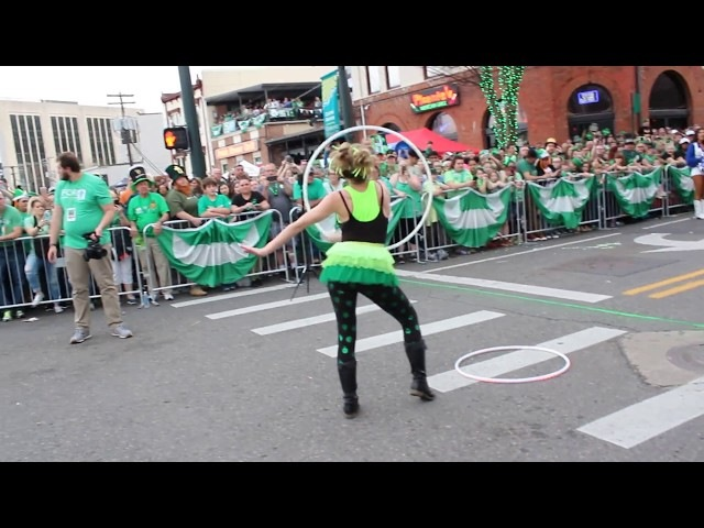 Hot Springs St. Patrick's Day Hooping