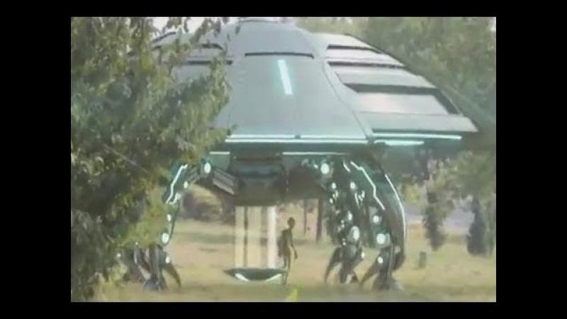 Воронеж в ИСТЕРИКЕ.НЛО сел прямо на детскую площадку,а 3-х метровые гуманоиды вели себя как хозяева
