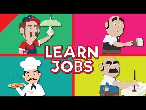 Jobs and Occupations for Kids   What Do They Do?   Kindergarten, EFL and ESL   Fun Kids English