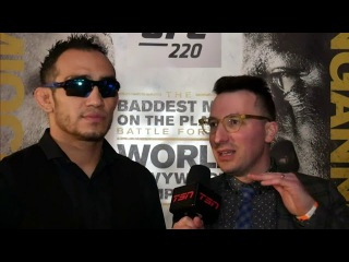 Tony Ferguson discusses how fans might be sleeping on him ahead of UFC 223