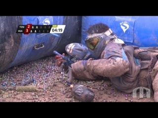Best professional paintball game of 2013 Houston Heat vs Ton Tons