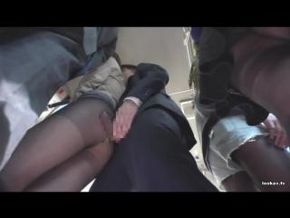 [sw-378] офисные леди в чёрных колготках подверглись домогательствам в автобусе 5 (японка,секс,минет,all sex, molester, fetish)