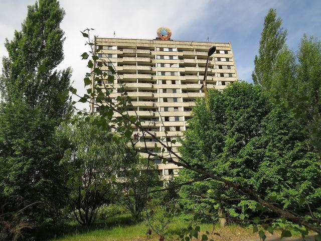 Путешествие по Припяти Trip in Pripyat