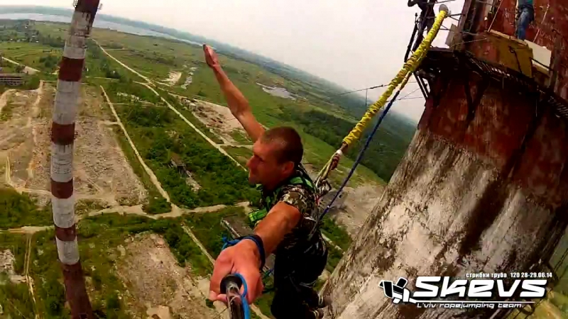 Skevs ropejumping Truba Sirka 29 06 2014