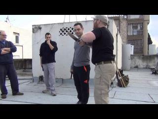 Sharon Friedman The way of Systema Israel through knife work
